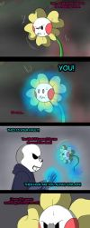 Undertale New world (page 105) by joselyn565