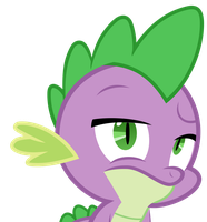 Spike is not impressed by TheHolyTuna