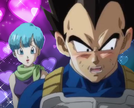 Vegeta and Bulma Love Picture by CatCamellia