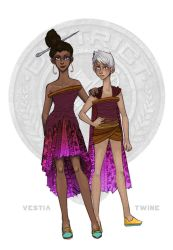 The Hunger Games - District 8 Tributes by Windnstorm
