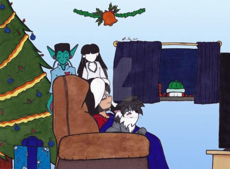 Christmas 2015 Panel 2 by Catboy-Trades
