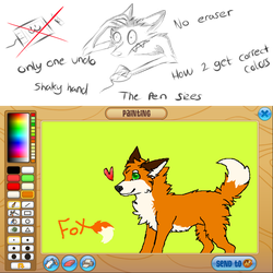 How it feels to use the AJ Drawing Program by TheCatDownstairs