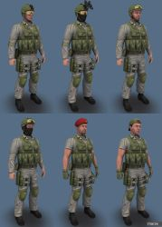 Blue Team Woodland05 by marze3d