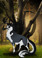 Accalon | Stag | Lord of Glenmore by orengel