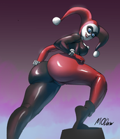 Harley quinn Commission by modaw