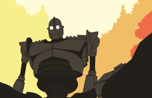 The Iron Giant by LoveOfTheFallen