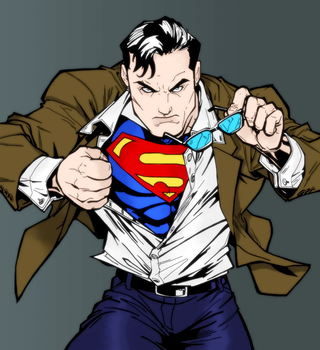 Superman by VicTycoon