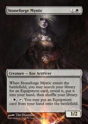 Stoneforge Mystic by Itsfish3