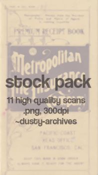 stock pack: metro 1916 by dusty-archives