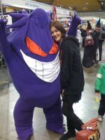 Me and my Gengar by EmeraldSILVER