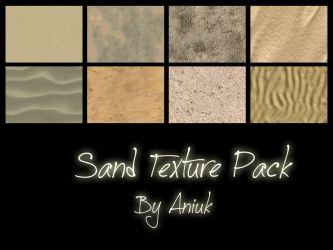 Sand Texture Pack - FeralHeart Textures by giddyfox