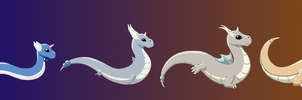 Dratini to Dragonite
