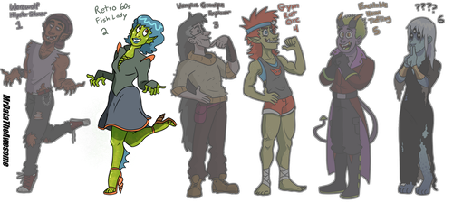 Monster adopts 125 POINTS EACH (OPEN) by MrDataTheAwesome