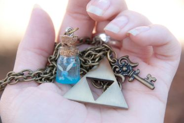 Adventure Necklace Inspired by Legend of Zelda by IvrinielsArtNCosplay