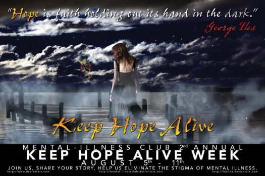 Keep Hope Alive Poster 2 by iochoa