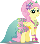 Pony Crystal Gala - Fluttershy by icantunloveyou