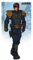 Judge Dredd Redesign by NiteOwl94