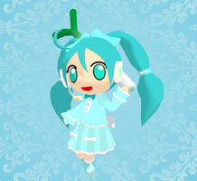 MMD Lolita Chibi Miku + Download by Aira-Melody
