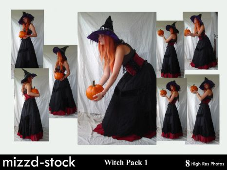 Witch Pack 1 by mizzd-stock