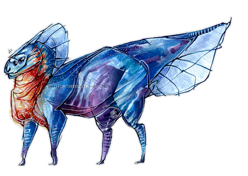 Desing Trade: -Lovely creature- by Drahiny