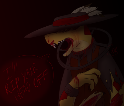 Goretober - Suitor - Day 27 by TheStarsRedemption