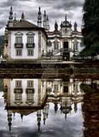 Mateus Palace in Vila Real by vmribeiro