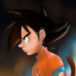 Goku by ridwanted