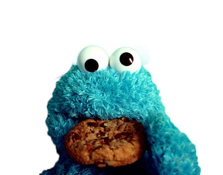 PNG Cookie Monster by Abrulcitta