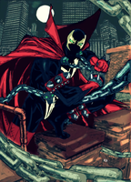 Spawn by arissuparmanart