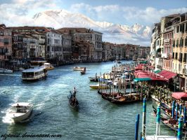 View of Venice by riztwist