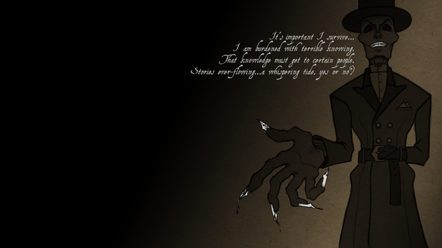 The Death of Dr. Armitage-wallpaper by MelAddams