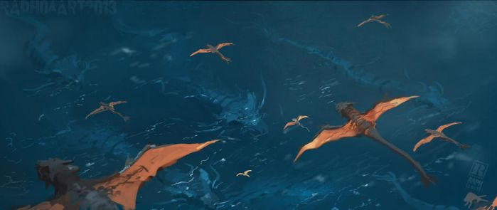 Dragon Migrations by RAPHTOR