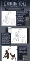 2d Coloring tutorial by Detkef