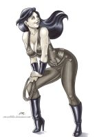 Donna Troy Commission by em-scribbles