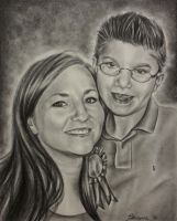 Mother and son by brailynne