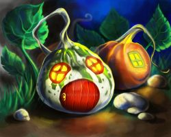 Pumpkins by adventocld