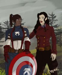 Captain America Au 1 by plastic-pipes