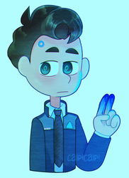 Hello, I'm android, the Connor sent by Cyberlife by calpicalpi