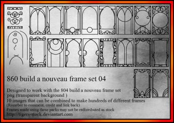 860 Build A Nouveau Frame 04 by Tigers-stock