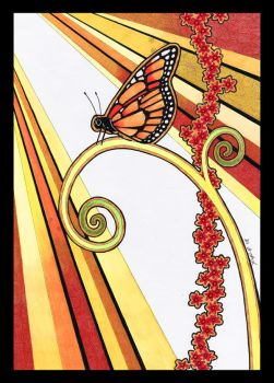 Monarch Butterfly as Totem by Ravenari
