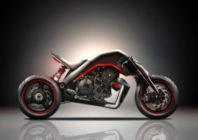 Motorcycle by jackass-18
