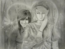 Christina Grimmie and Link by eromarap