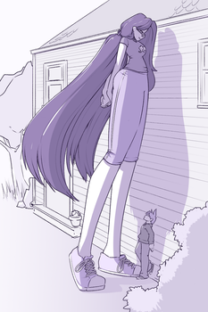 Towering by chibiBiscuit