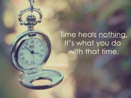 Time heals nothing by xxFiveWords