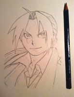 Edward Elric WIP by saeglopur12