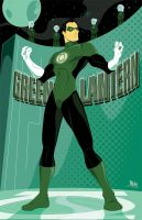 Green Lantern by MikeMahle