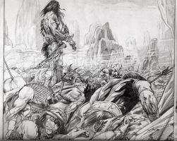 conan combat and death by muharremyetis