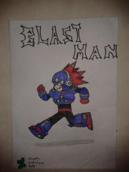 Blast Man by MicaelHD