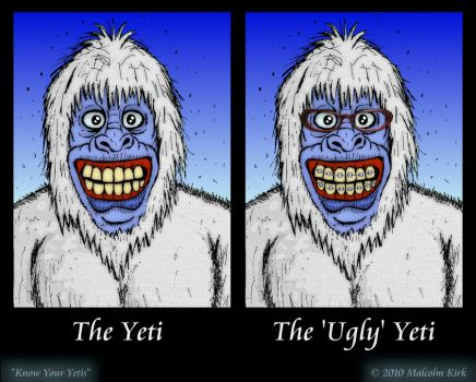 Know Your Yetis by MalcolmKirk