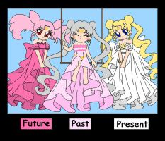 All Generations of Princesses by nads6969